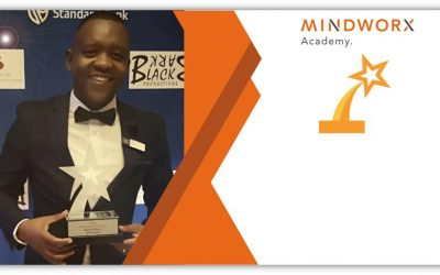 Mindworx Academy Head Sabelo Myeni scoops the 2018 Standard Bank Rising Star Award